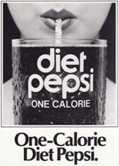 Ellen Michaels in ad for Diet Pepsi