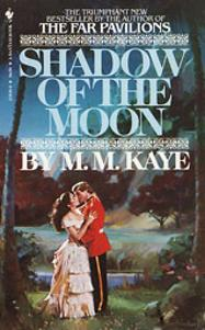 Ellen Michaels on the romance novel book cover Shadow Of The Moon