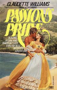 Ellen Michaels on the romance novel book cover Passion's Pride