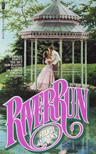 Ellen Michaels on the romance novel book cover River Run